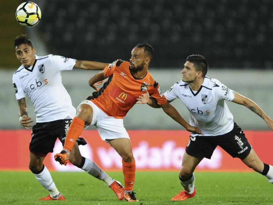 V. Guimarães-Portimonense, 3-3 (destaques)
