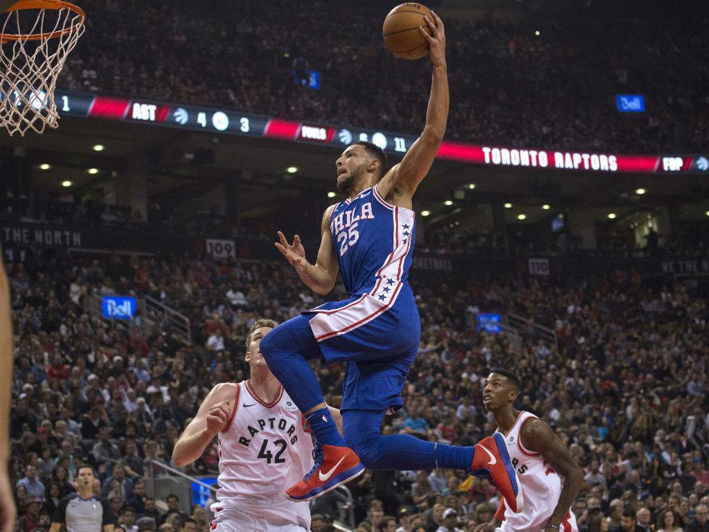NBA: Ben Simmons escreve história no primeiro triunfo dos 76ers