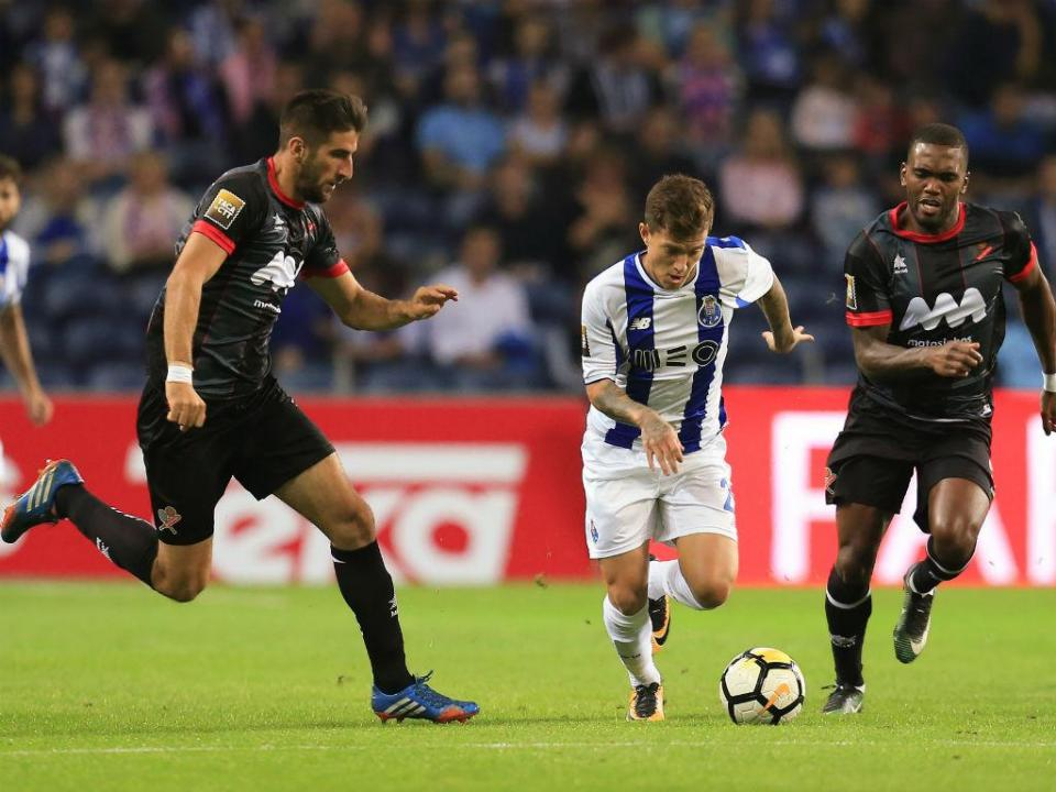 FC Porto-Mónaco: alteração de última hora, Otávio lesiona-se