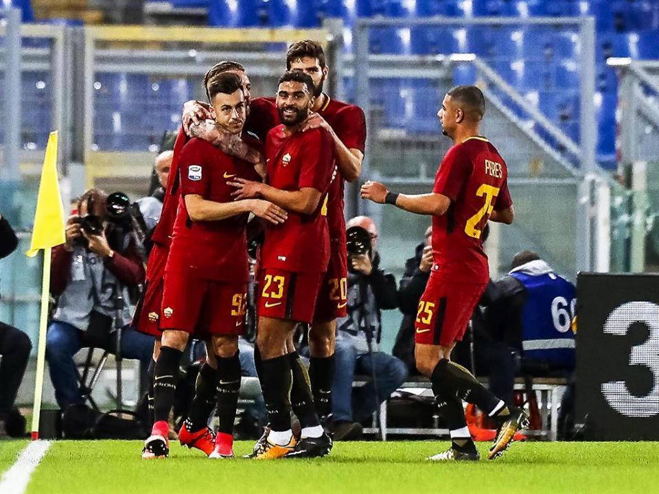 Roma empata em Verona e falha aproximação ao topo