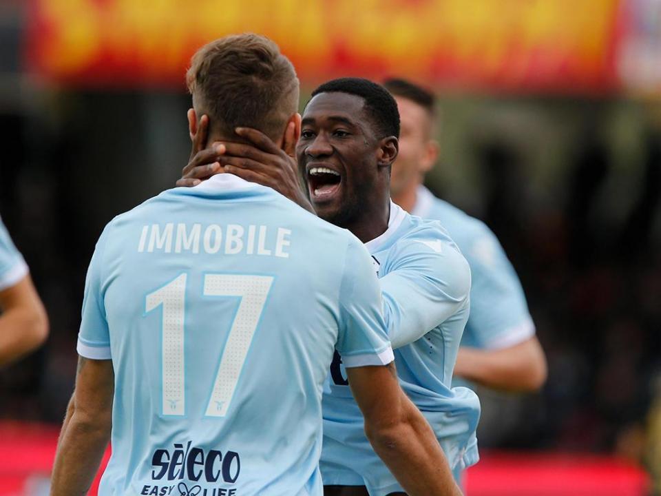 LE, Grupo K: Nani titular no apuramento da Lazio