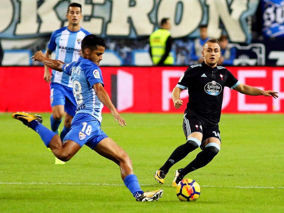 46d54ed532 Málaga soma primeira vitória na liga