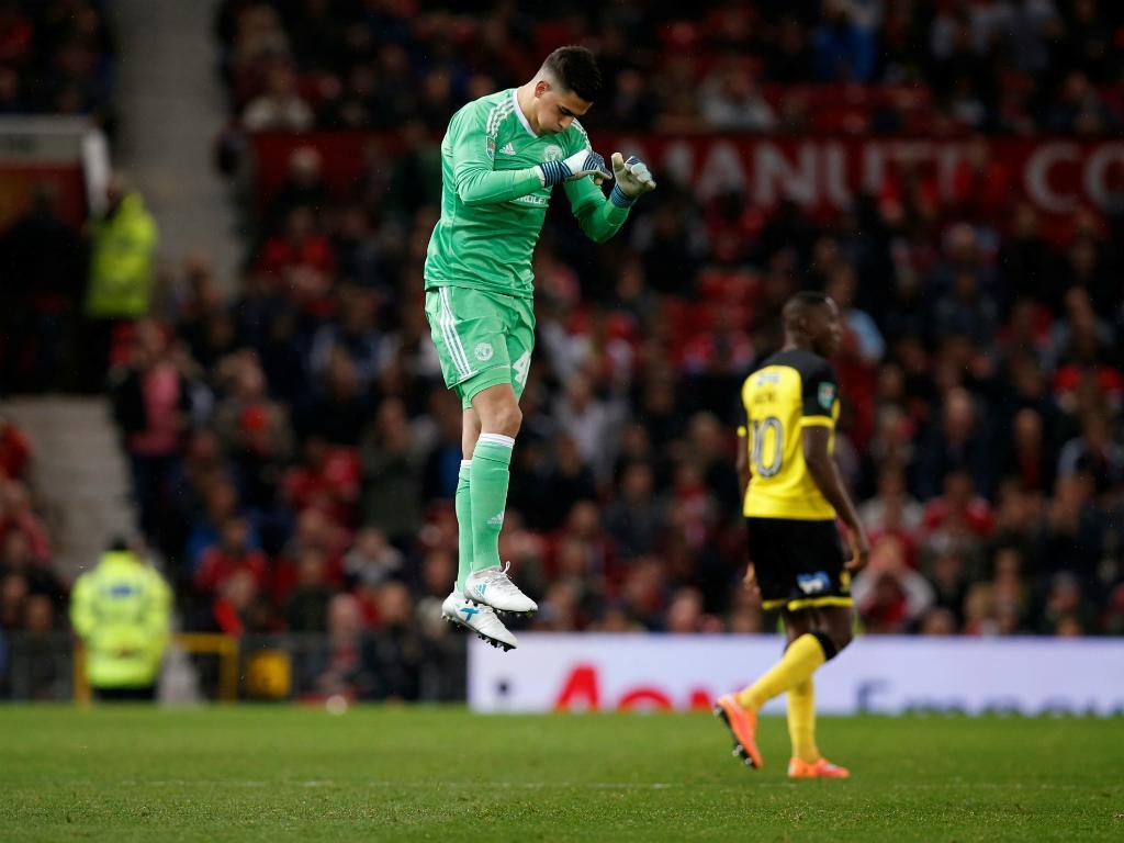Joel Pereira: «Fui eu que quis ficar no United»