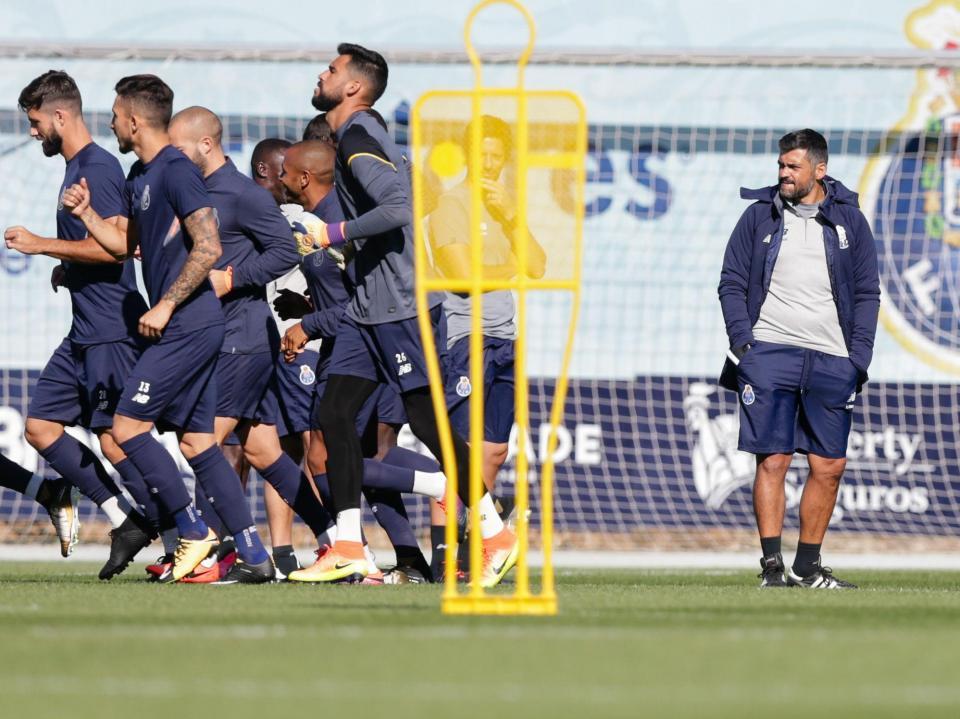 FC Porto quase a 100 por cento no último treino para receção ao Mónaco