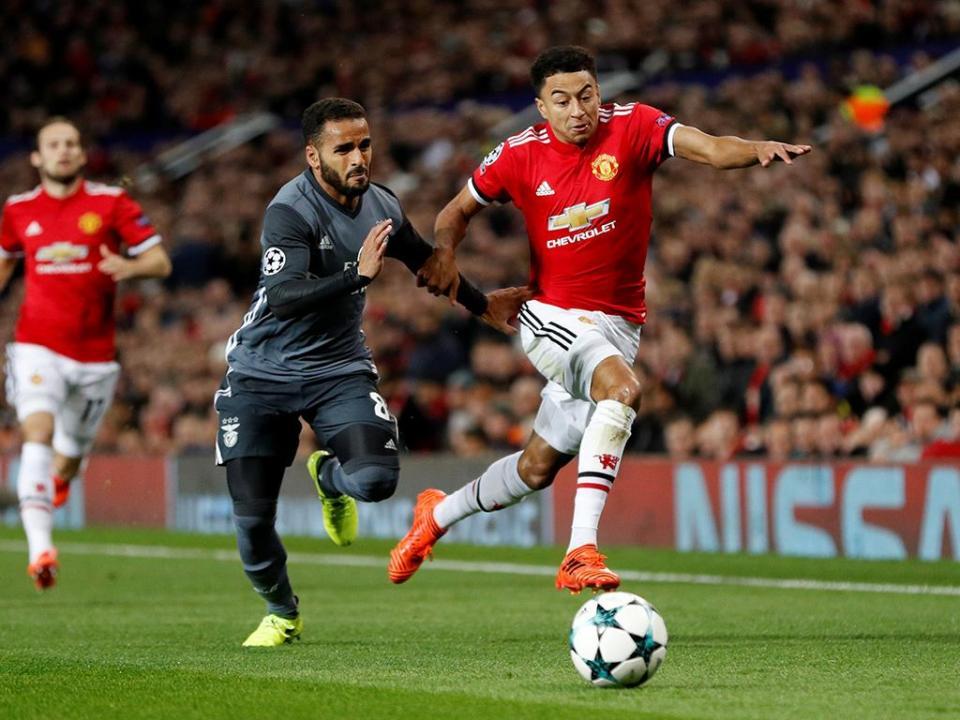 Lingard e o empate do United: «É uma desilusão»