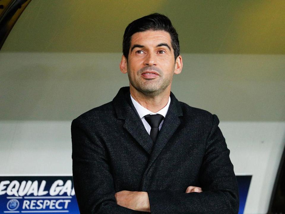 Paulo Fonseca: «Muitos diziam que nem íamos à Liga Europa»