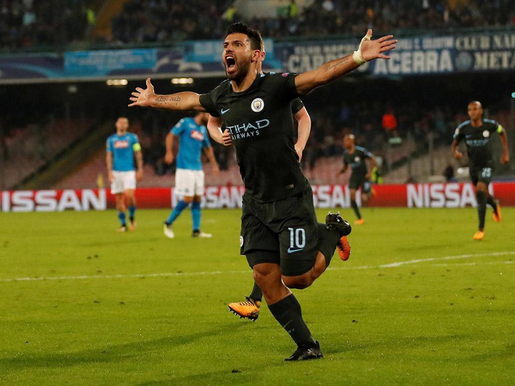 Agüero torna-se no melhor marcador da história do City