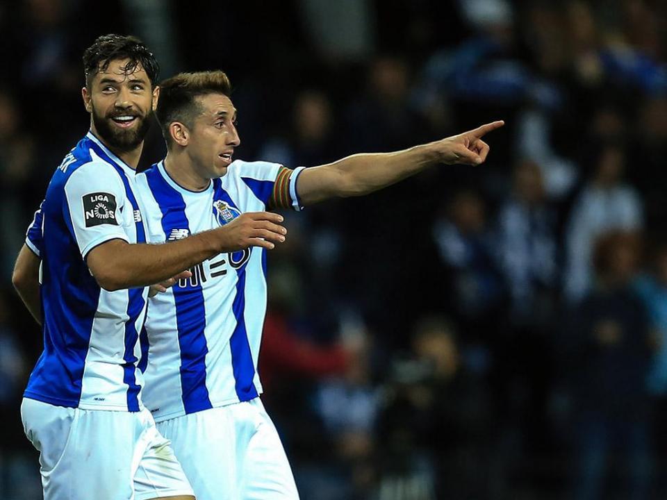 VÍDEO: o golaço de Herrera que fez a vitória do FC Porto no clássico