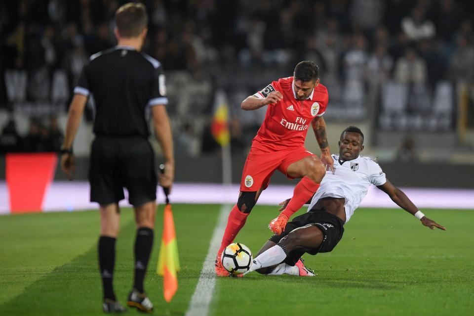 Konan regressa aos convocados do Vitória de Guimarães para a receção ao Feirense