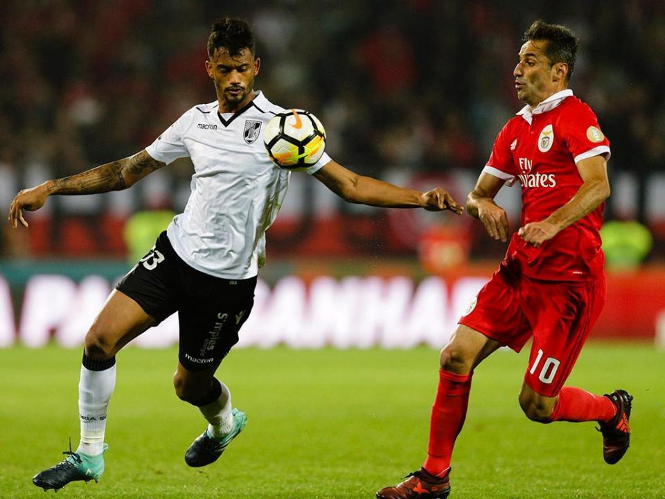 V. Guimarães: Jubal falha dérbi com o Sp. Braga devido a lesão