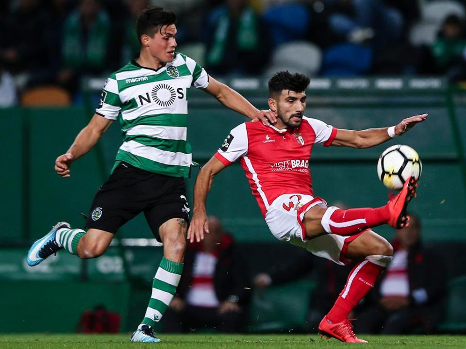 Sporting: Jonathan Silva esperado em Leganés nesta sexta-feira