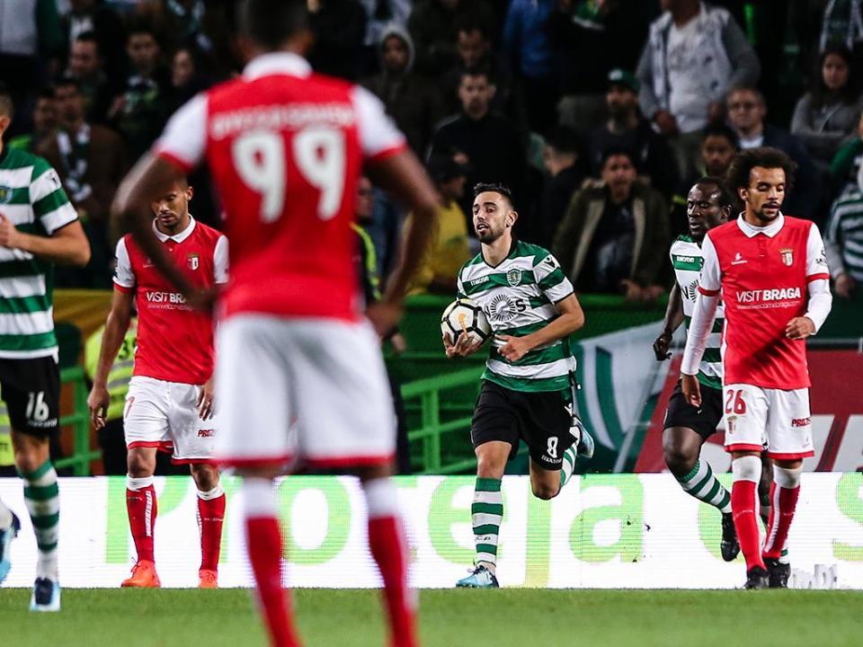 VÍDEO: Bruno Fernandes salvou um ponto para o Sporting dos 11 metros