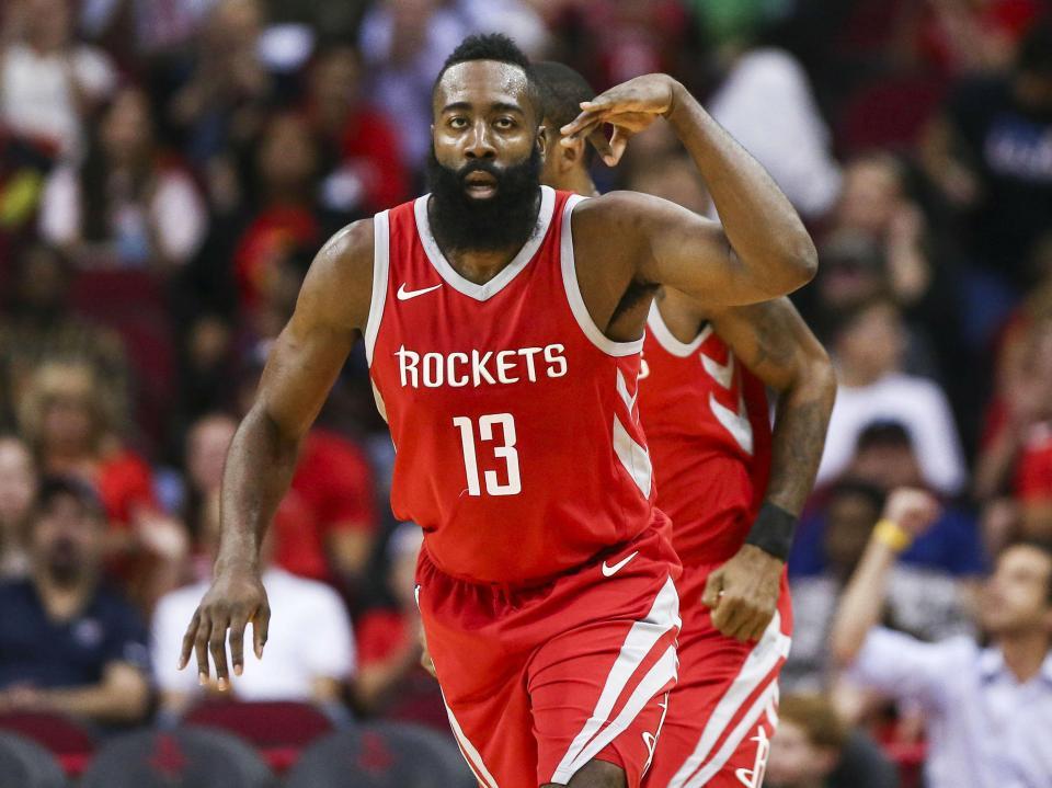 Harden perto de bater recorde dos Rockets que diz desconhecer