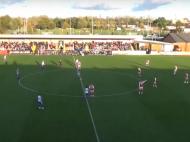 Futebol Feminino Inglaterra - Golo do pontapé de saída