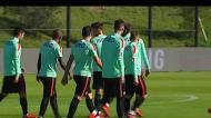 Portugal continua a preparar jogo solidário