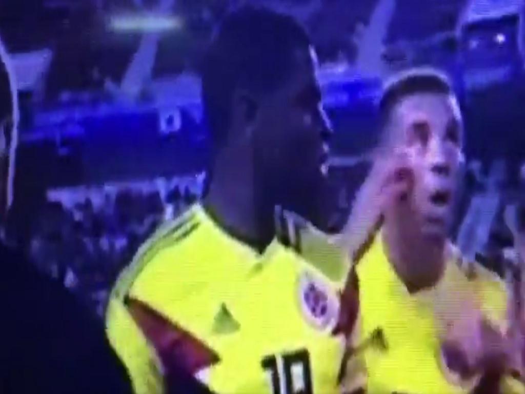 VÍDEO: gesto polémico pode valer castigo a Edwin Cardona