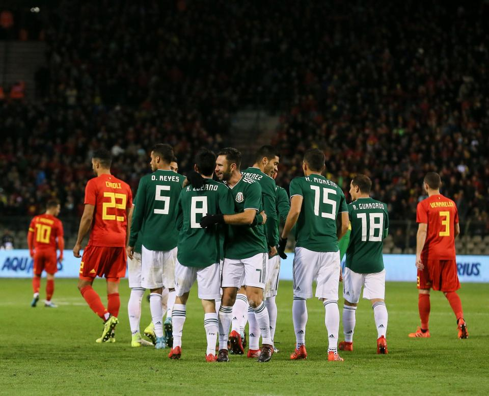 Pré-convocatória do México com cinco «portugueses» em lista de 28