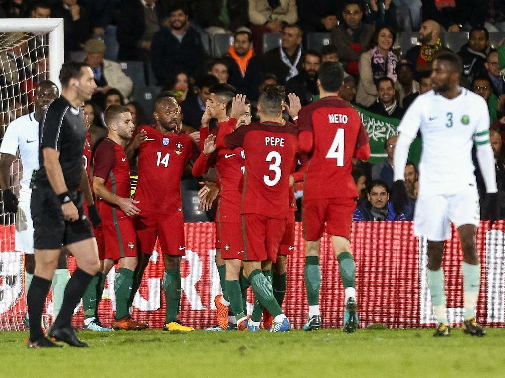 Portugal-Arábia Saudita, 3-0 (crónica)