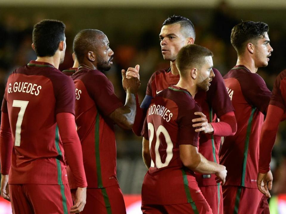 Portugal-Arábia Saudita, 3-0 (resultado final)