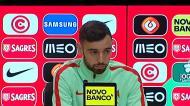 Bruno Fernandes conta o que fez à camisola do jogo com a Arábia Saudita
