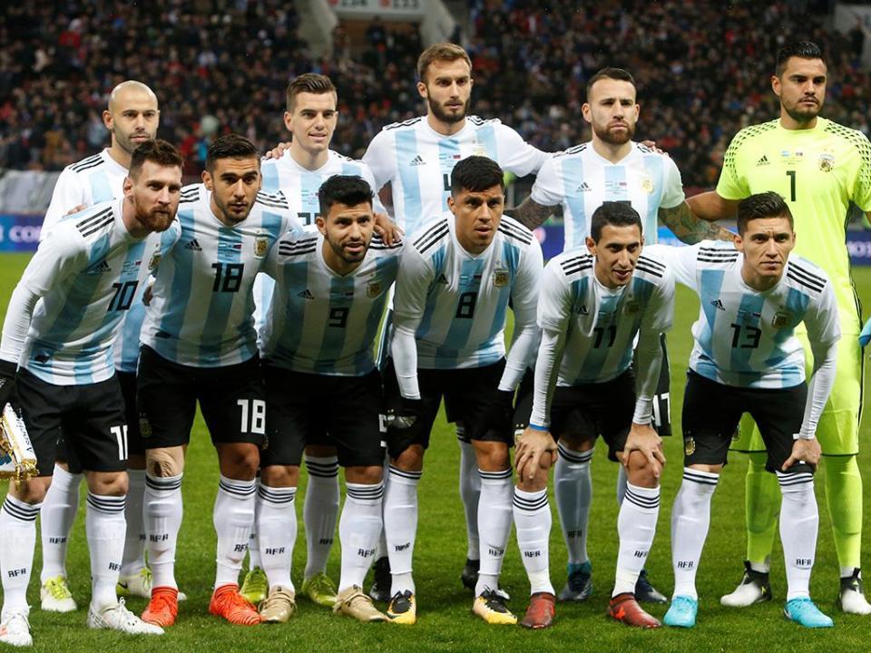 Mundial 2018: Acuña e Salvio nos convocados da Argentina