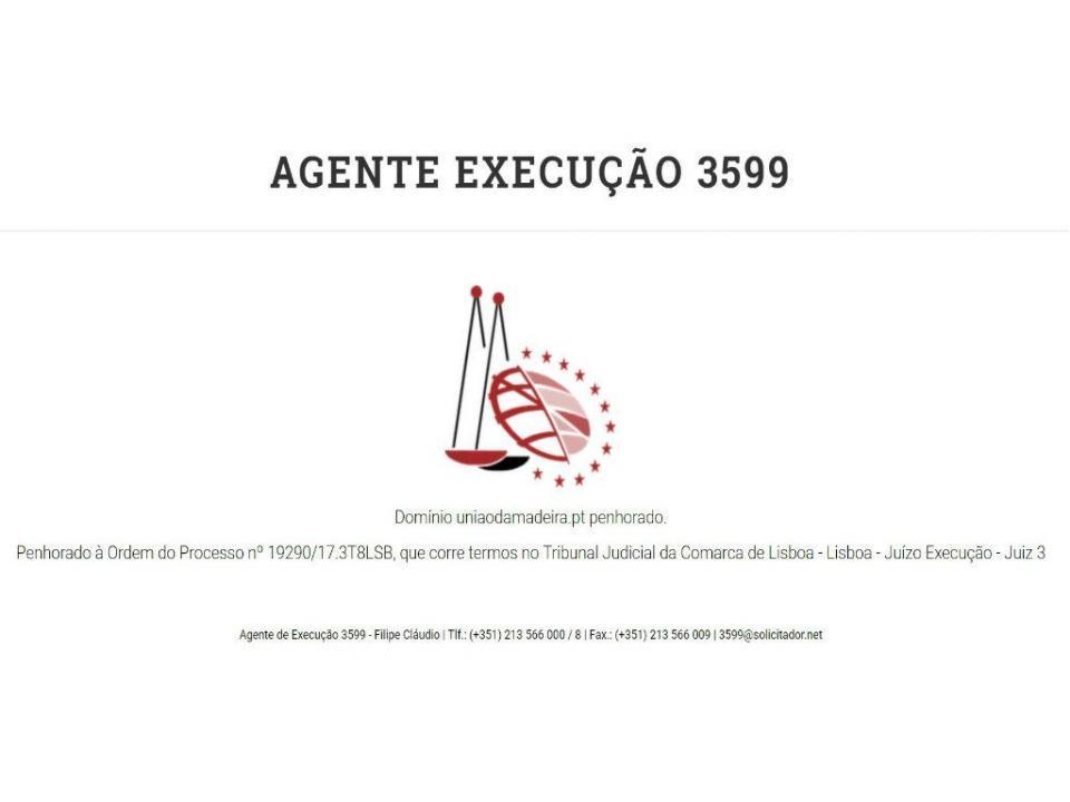 Tribunal penhorou site do União da Madeira na internet