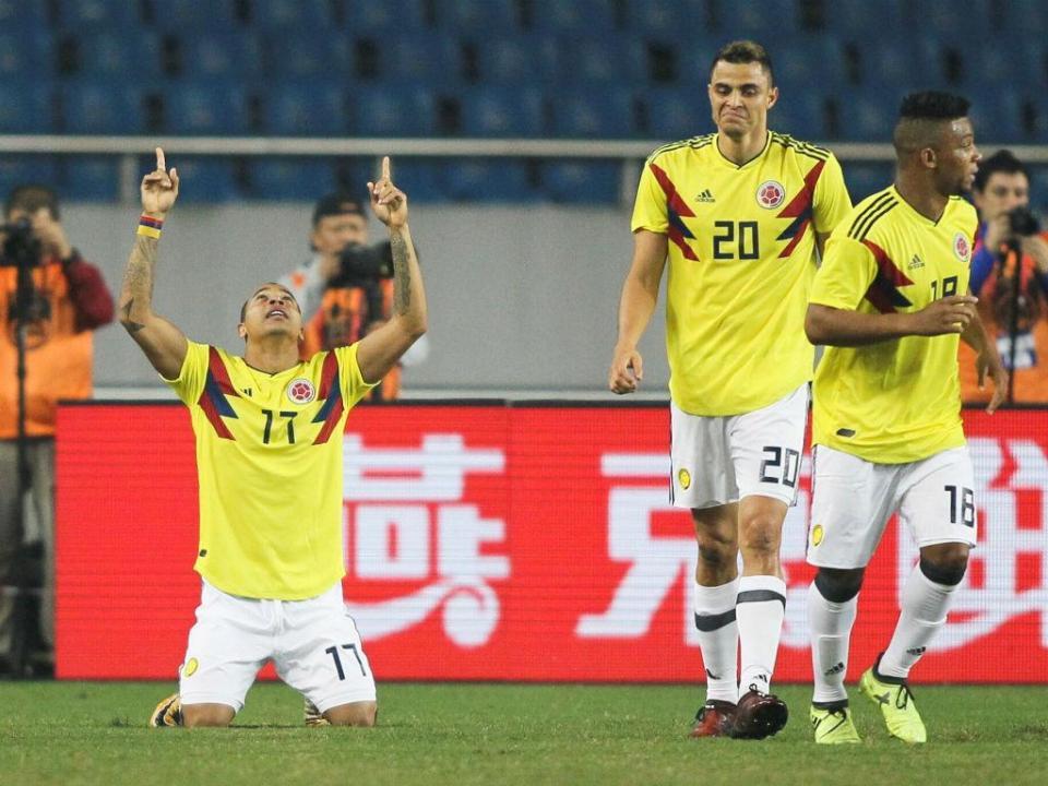 Egito e Colômbia não saem do nulo em jogo particular