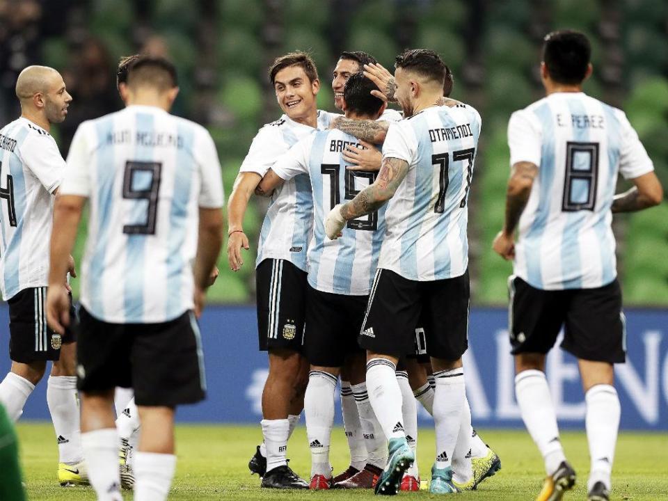 Argentina: Salvio e Acuña convocados por Sampaoli