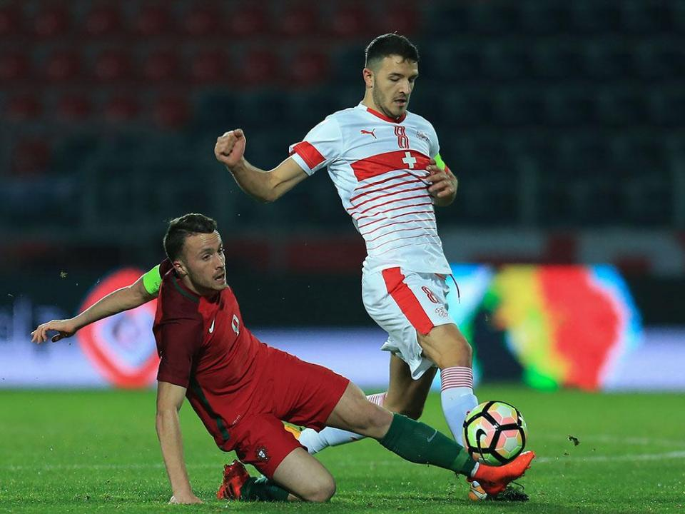 Sub-21: Portugal-Suíça, 2-1 (resultado final)