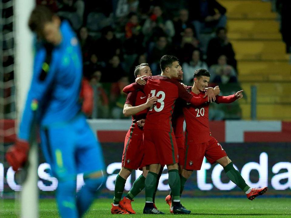 Diogo Gonçalves: «Ganhámos 2-1, mas podíamos ter feito mais»