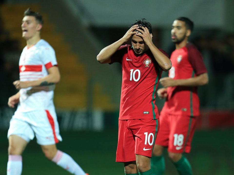 Sub-21: Portugal-Suíça, 2-1 (destaques)