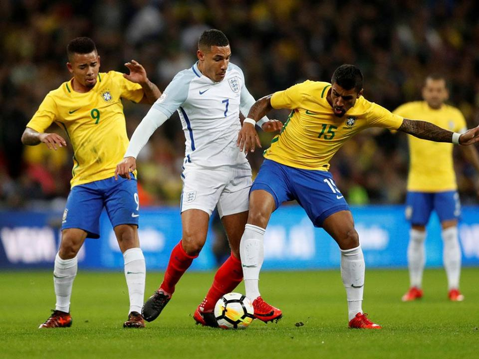 Inglaterra-Brasil, 0-0: 11 leões anulam Neymar
