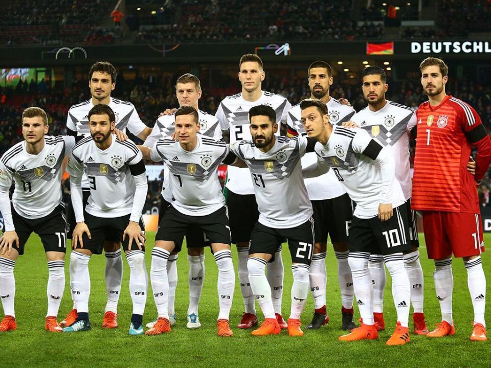 ... E alemães recebem 350 mil euros se ganharem Mundial