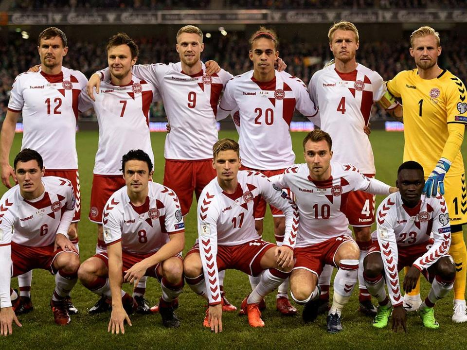Mundial 2018: Três estreias nos pré-convocados da Dinamarca