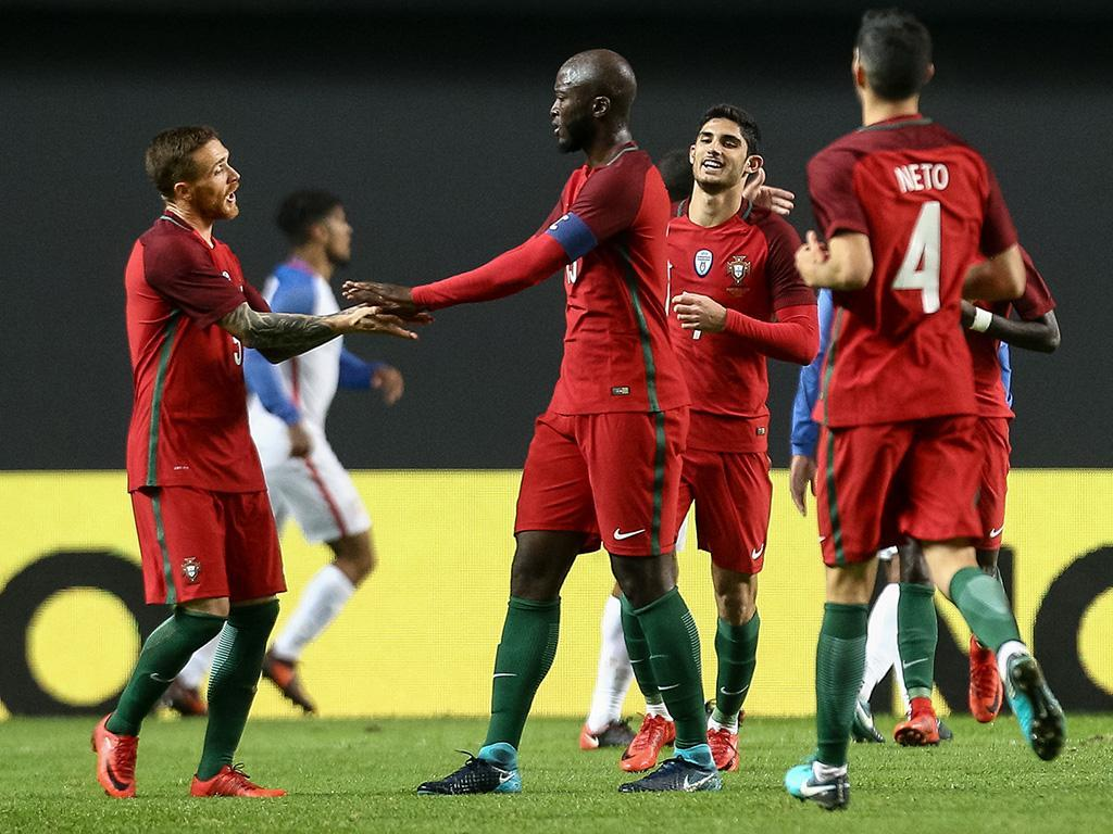 Portugal-Estados Unidos, 1-1 (resultado final)