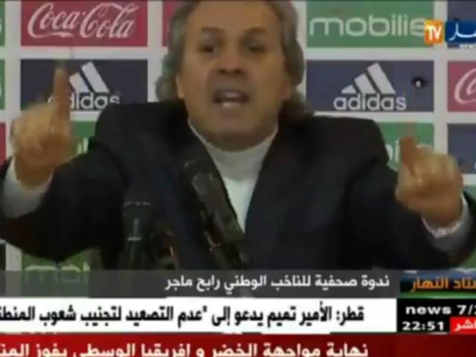 VÍDEO: Madjer perde a cabeça com jornalista: «Você é inimigo da seleção»