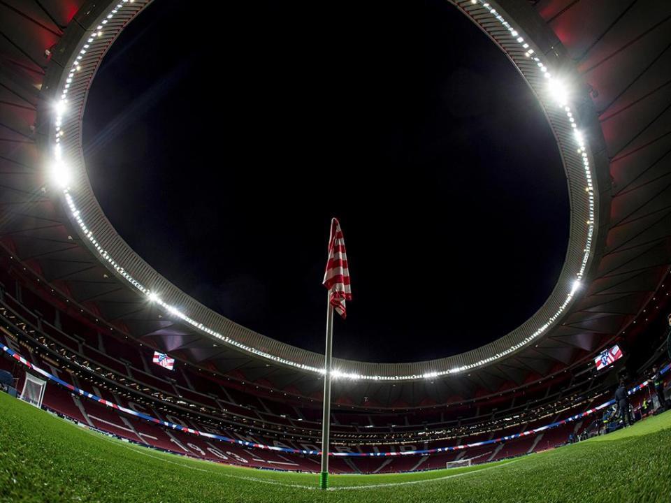 Wanda Metropolitano vai ser o palco da final da Taça do Rei