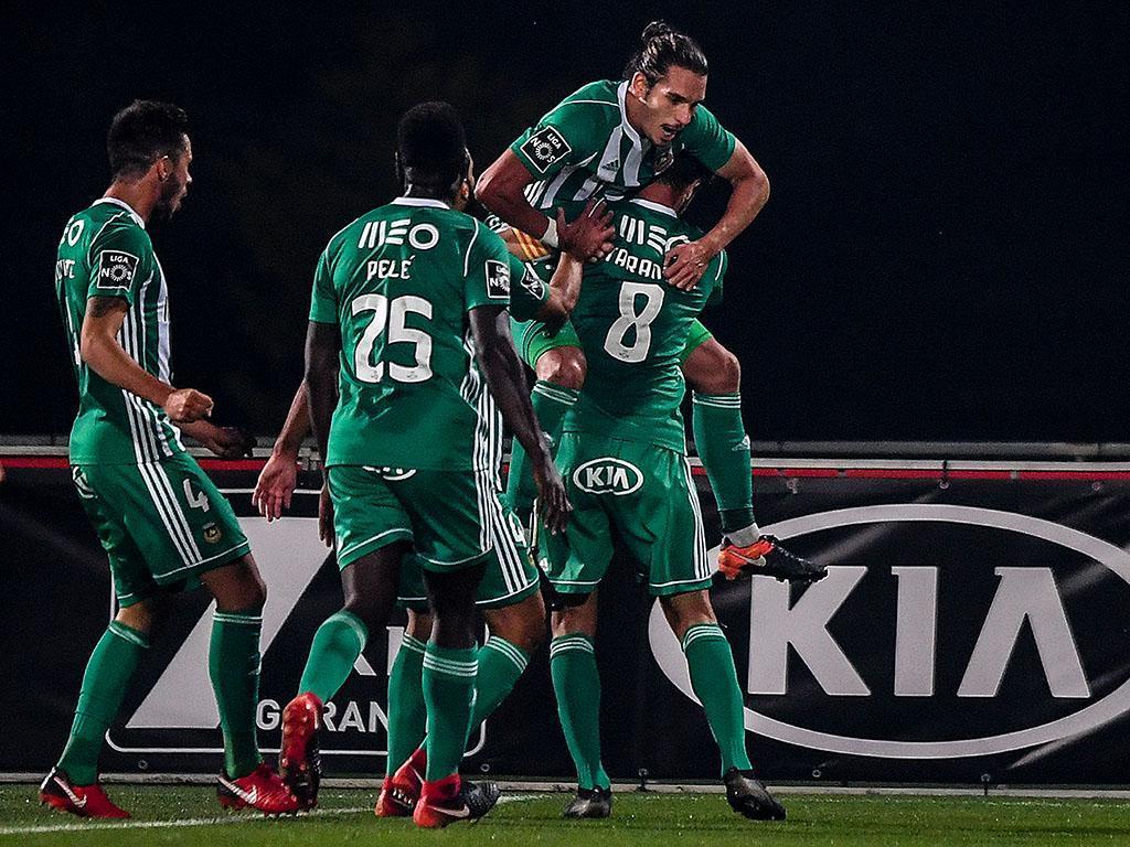 Tondela-Rio Ave, 1-3 (resultado final)