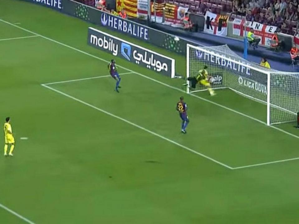 Camp Nou, agosto de 2011: a prova que Valdés era tão bom como os melhores