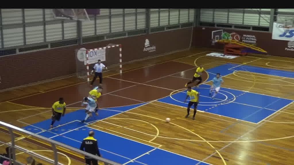 Futsal: resultados da 12ª jornada do campeonato