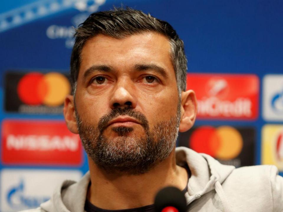 Conceição: Estamos preparados para o que o Benfica possa fazer»