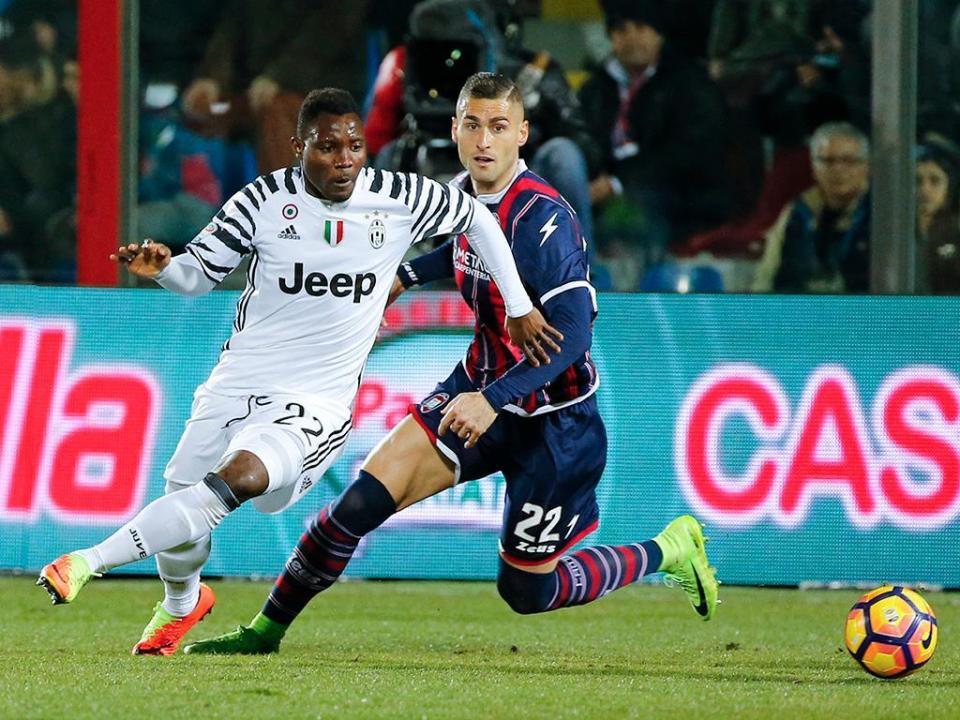 Juventus: Asamoah rejeita renovação e sai