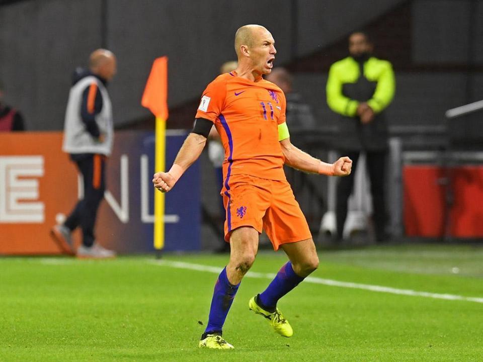 Arjen Robben já projeta final da carreira
