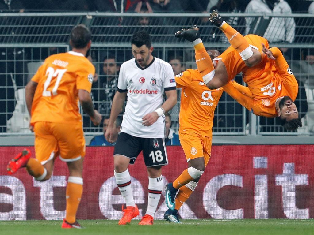 LC: Besiktas-FC Porto, 1-1 (resultado final)