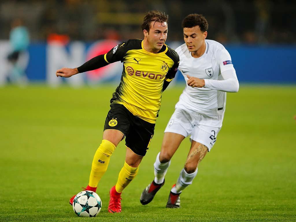 Borussia Dortmund: lesão no tornozelo afasta Götze seis semanas
