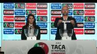 Taça de Portugal: veja como decorreu o sorteio
