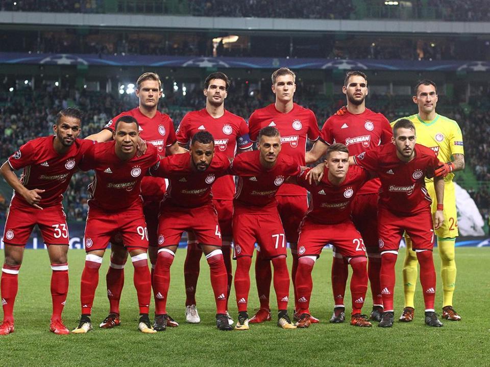 Grécia: Olympiakos assume liderança da Liga à condição