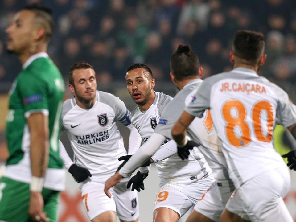 Grupo do Sp. Braga: Basaksehir vence na Bulgária e ainda sonha