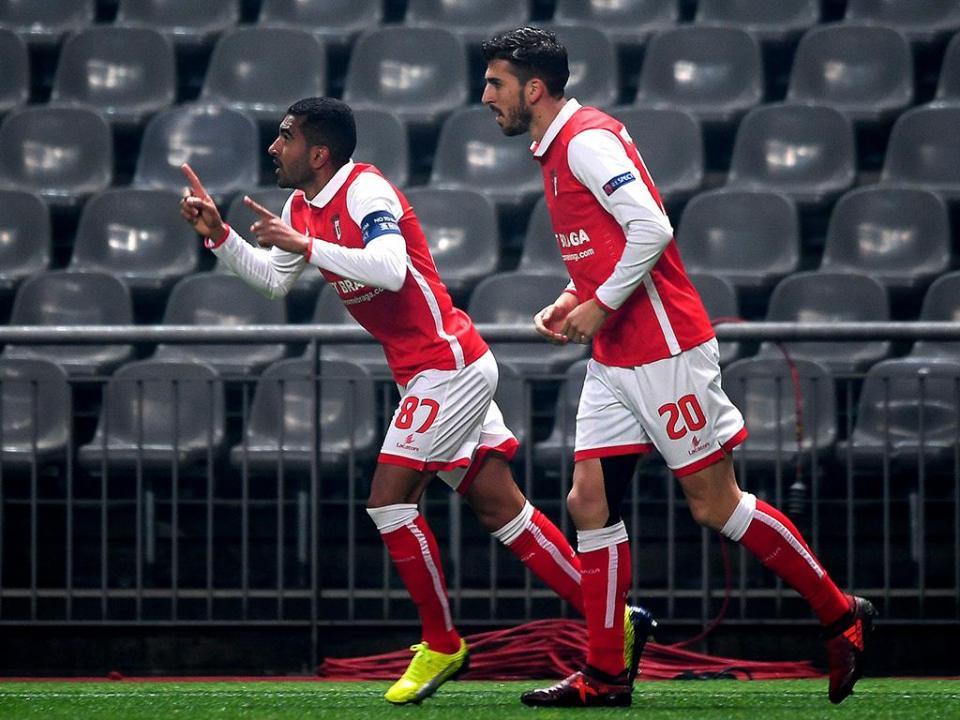 VÍDEO: golo de Bruno Vianna adianta Sp. Braga no marcador