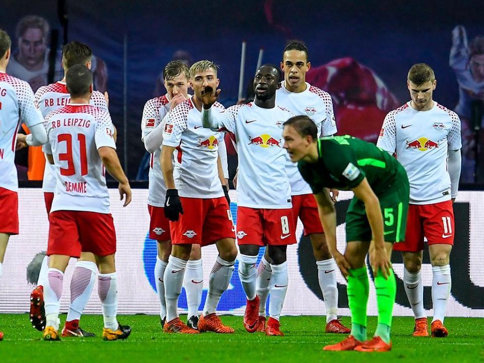 Atenção FC Porto: Leipzig isola-se no segundo lugar na Bundesliga
